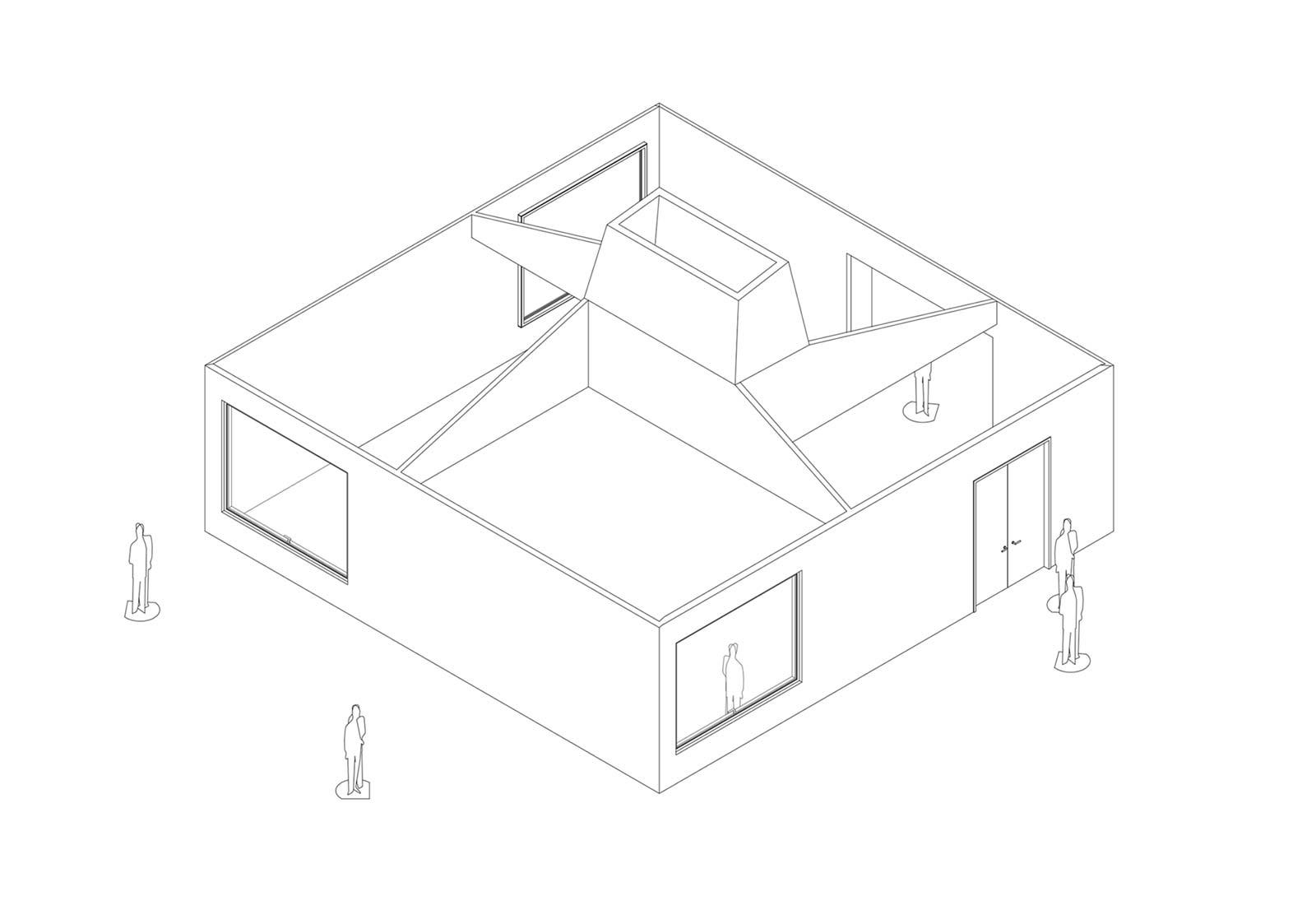 Und mang architektur projekte for Architektur axonometrie